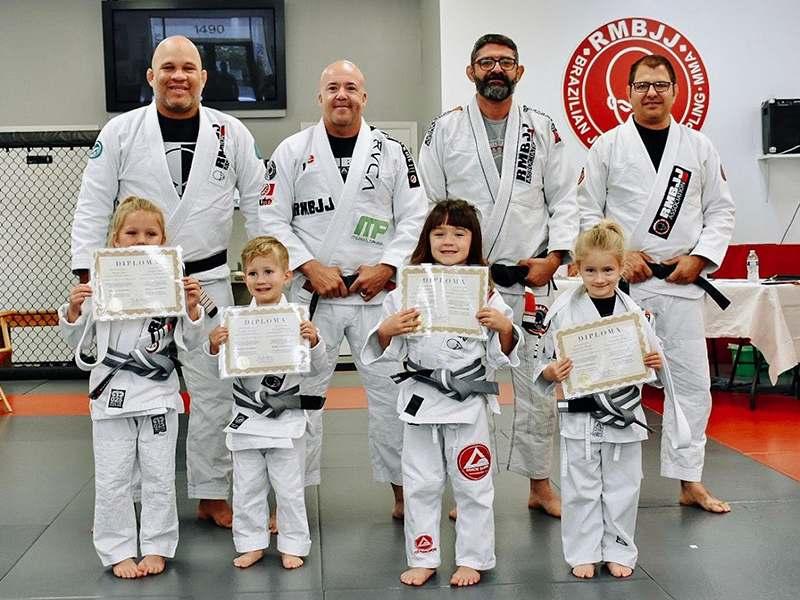 Preschool Brazilian Jiu-Jitsu training in Delray Beach