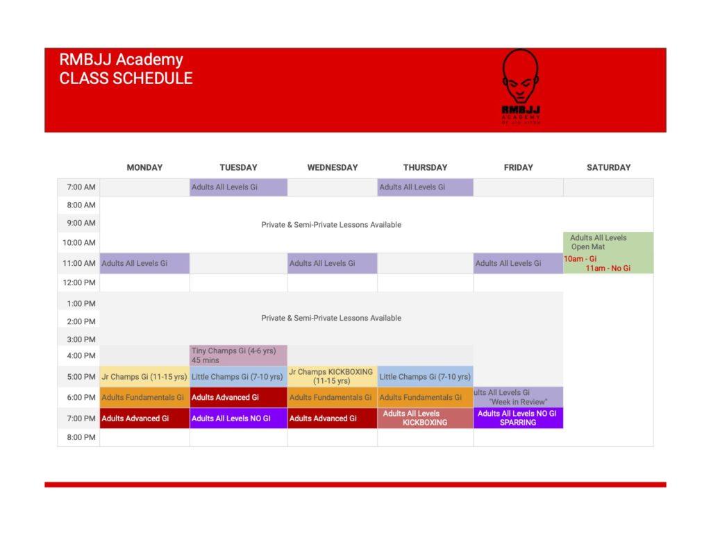 Schedule Copy Of Start 6 1 4 Copy 1024x791, RMBJJ Academy Delray Beach FL